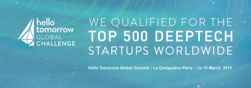 Selected as a Top 500 Startup worldwide out of many