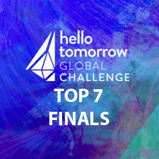Selected as Top 7 Start-Up Finalist in 'Hello Tomorrow' Global Heath Competition